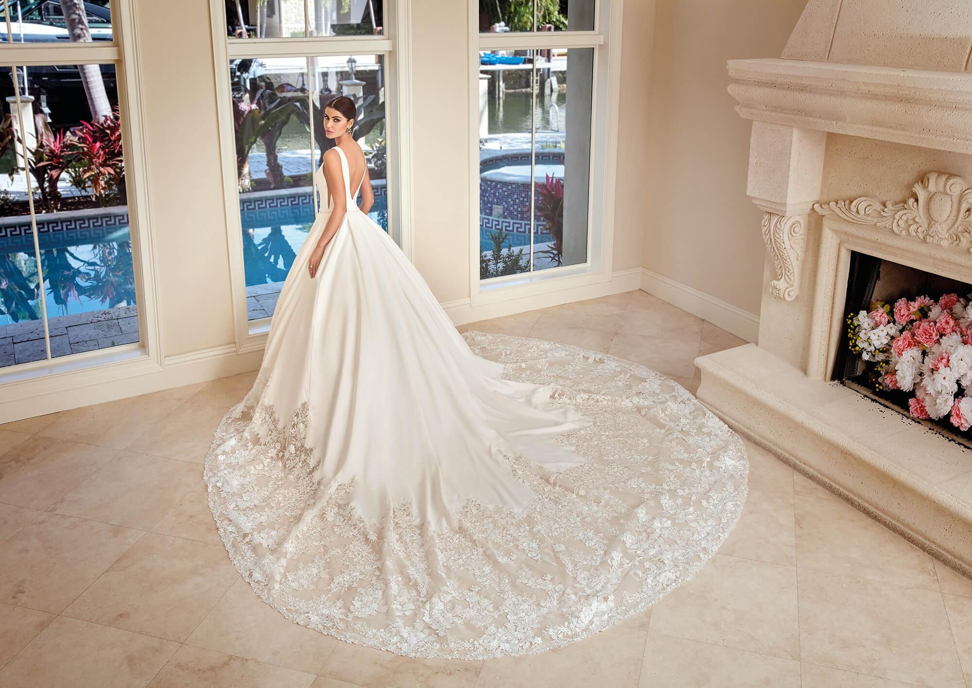 Brautkleid Prinzessin Satin